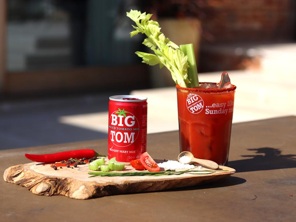 Big Tom Klassisk Bloody Mary serveringsförslag