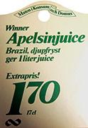 Skandjuice historia kampanj på juice