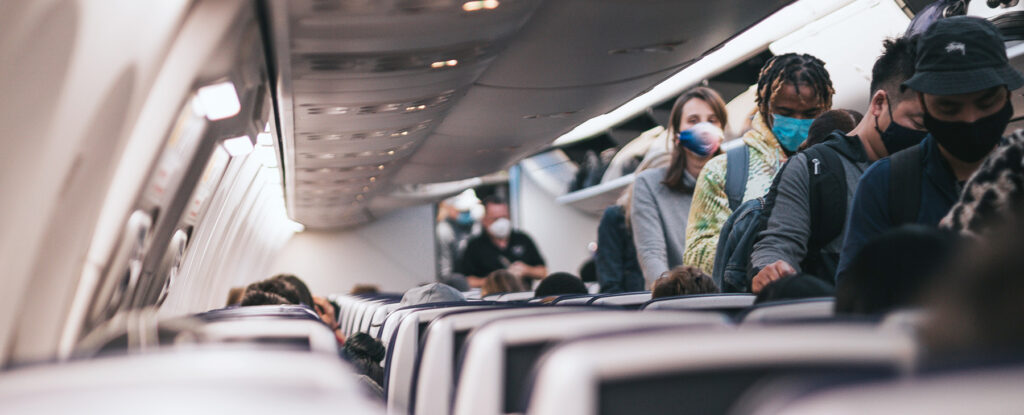 Covid-19 påverkan på flygresandet