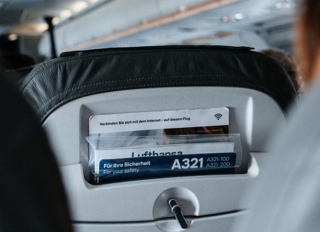 Lufthansa A432 Seat Pocket