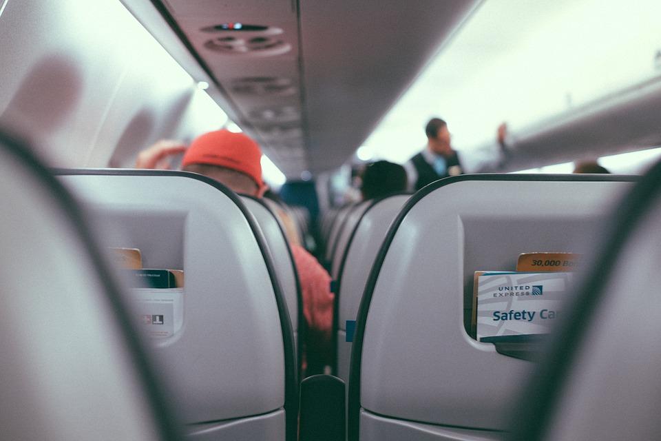 Inuti, Flygplan, Flygbolaget, Resa, Passagerare, Säte